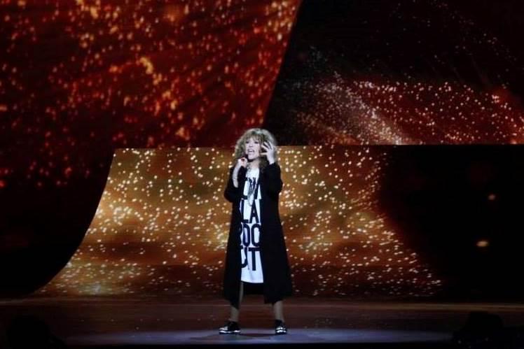 Момент з святкового концерту на честь 8 Березня.  Фото: прес-служба