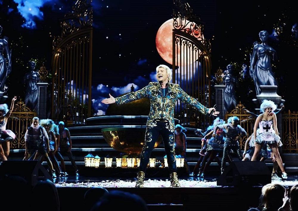 Юбилейный концерт Николая Баскова. Фото: пресс-служба